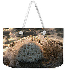 Brain Coral Splash Delray Beach Florida Weekender Tote Bag