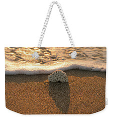 Brain Coral Wave Weekender Tote Bag