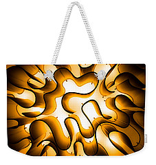 Weekender Tote Bag featuring the photograph Brain Lighting by T Brian Jones