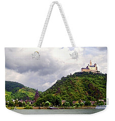 Weekender Tote Bag featuring the photograph Brambach Germany by Joan  Minchak