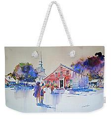 Bramhall's Corner Weekender Tote Bag