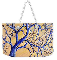Branches Of Blue Weekender Tote Bag
