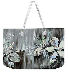Weekender Tote Bag featuring the painting Branches Of Fun by Joanne Smoley