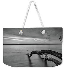 Branching Out - Bw Weekender Tote Bag