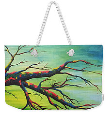 Branching Out In Color Weekender Tote Bag