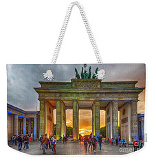 Brandenburg Gate Weekender Tote Bag by Pravine Chester