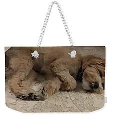 Brandy Weekender Tote Bag
