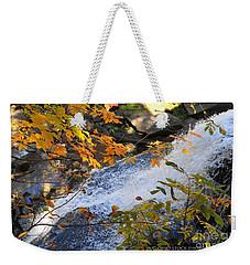 D30a-18 Brandywine Falls Photo Weekender Tote Bag