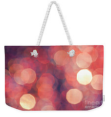 Weekender Tote Bag featuring the photograph Brandy Wine by Jan Bickerton