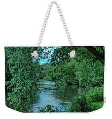 Weekender Tote Bag featuring the photograph Brandywine River by Richard Goldman