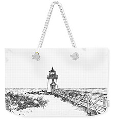 Brant Point Lighthouse Weekender Tote Bag
