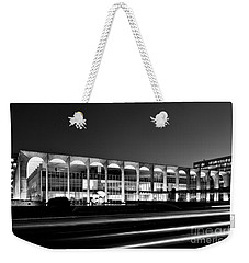 Brasilia - Itamaraty Palace - Black And White Weekender Tote Bag