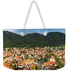 Weekender Tote Bag featuring the photograph Brasov by Fabrizio Troiani