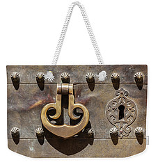 Brass Castle Knocker Weekender Tote Bag
