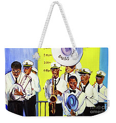 Brass Of  Class New Orleans Weekender Tote Bag