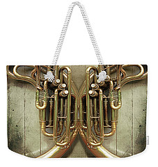 Brass Section Weekender Tote Bag