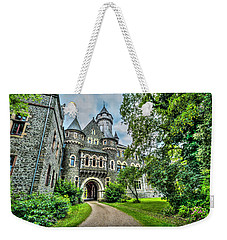 Weekender Tote Bag featuring the photograph Braunfels Castle by David Morefield