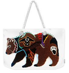 Brave Bear Weekender Tote Bag
