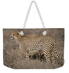 Brave From Under Here Weekender Tote Bag by Janis Knight