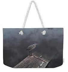 Brave Heron Weekender Tote Bag by Expressionistart studio Priscilla Batzell