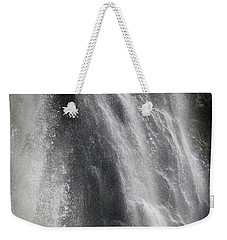 Weekender Tote Bag featuring the photograph Brave by Jocelyn Friis