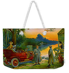 Brave New World 1910 Weekender Tote Bag by Padre Art
