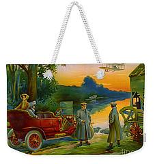 Brave New World 1910 Weekender Tote Bag by Padre Art