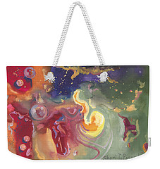 Brave The Unknown Weekender Tote Bag
