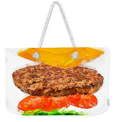 Brazilian Salad Cheeseburger Weekender Tote Bag