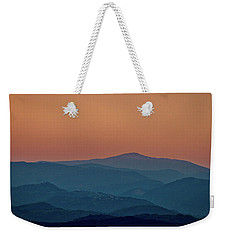 Weekender Tote Bag featuring the photograph Brda Dusk - Slovenia by Stuart Litoff
