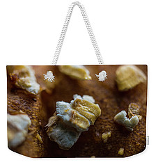 Bread Macro Food Weekender Tote Bag by David Haskett