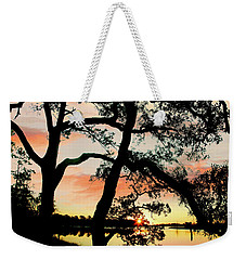 Break Of Dawn Weekender Tote Bag by Tim Fitzharris