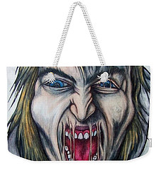 Break The Silence Weekender Tote Bag by Michael  TMAD Finney