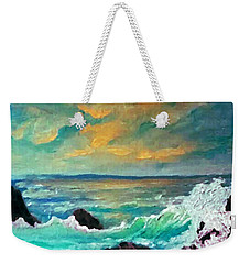 Breakers Weekender Tote Bag by Holly Martinson