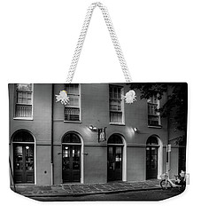 Breakfast At Cc's In Black And White Weekender Tote Bag