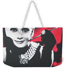 Breakfast At Tiffannys Weekender Tote Bag