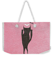 Breakfast At Tiffany's Weekender Tote Bag by Ayse Deniz