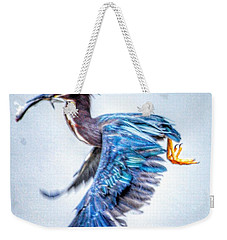 Weekender Tote Bag featuring the photograph Breakfast by Sumoflam Photography