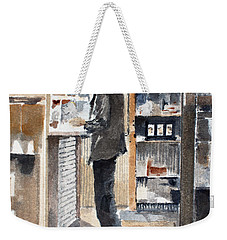 Breakfast Tab Weekender Tote Bag