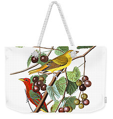 Weekender Tote Bag featuring the photograph Breakfast Time by Munir Alawi