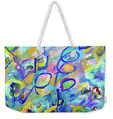 Breaking Boundaries Abstract Weekender Tote Bag