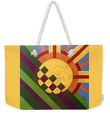 Breaking Day Weekender Tote Bag