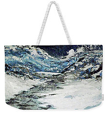 Breaking Loose Weekender Tote Bag