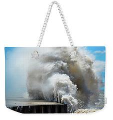 Breaking Power Weekender Tote Bag
