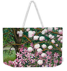 Breaking Spring Weekender Tote Bag