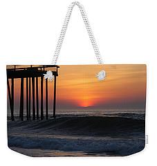 Breaking Sunrise Weekender Tote Bag
