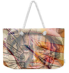 Breaking The Glass Ceiling Weekender Tote Bag