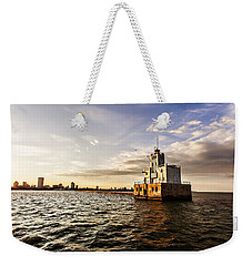 Breakwater Lighthouse Weekender Tote Bag
