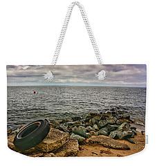 Breakwaters I Weekender Tote Bag