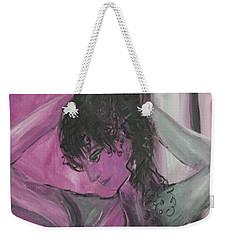 Breast Cancer Awareness Weekender Tote Bag by Avonelle Kelsey
